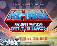 Mattel Master of the Universe Classic Mini He-Man Skeletor MOTU SDCC 2013