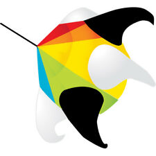 "Kite Windsock 24"" Rainbow Star Orb Willie Koch..24........ PR 77746"