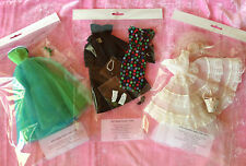 Vintage BARBIE Archival Quality Clothes GOWN DISPLAY BAGS 59-66 Be Organized lot