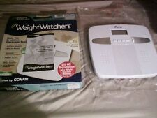 Model WW33 Weight Watchers Body Fat Precision Electronic Scale by CONAIR
