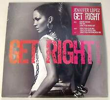 "JENNIFER LOPEZ - GET RIGHT - MIX 12"" LP VINYL 6 TRAKs SIGILLATO NUOVO!!! MINT!!"