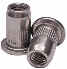 10 Rivet nuts Rivnuts Nutserts M5  Stainless Steel