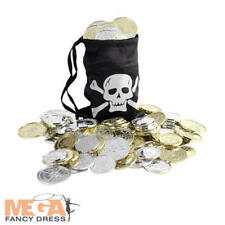 Buccaneera Bounty Pirate Coin Bag Fancy Dress Pirate Costume Accessory