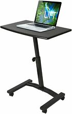 Seville Classics Inc. Mobile Laptop Cart Desk Black Model # OFF65854 PO # 195768