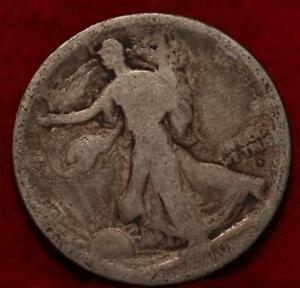 1916-D Denver Mint Silver Walking Liberty Half