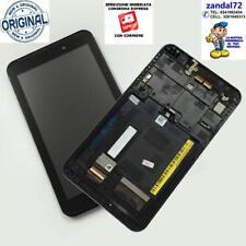 "DISPLAY LCD TOUCH E FRAME ASSEMBLATI ASUS ME170 FE170CG K012 FONEPAD 7"" USATO"