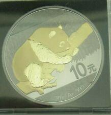 10 Yuan China 2016 - Panda - Ruthenium-Gold- Golden Enigma║M659