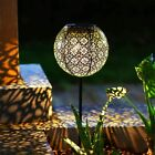 Garden Solar Lights Pathway Outdoor Solar Stake Lights Metal Lights Vintage Sale