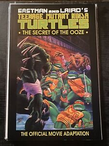 TEENAGE MUTANT NINJA TURTLES 1991 'SECRET OF THE OOZE THUNDRA PRESS TMNT Lot 2