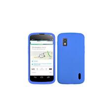 ASMYNA Skin Cover (Blue) for LG Nexus 4