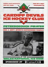Sep 87 Cardiff Devils V Peterborough Piratas (Diablos segunda temporada)