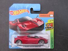 HOT WHEELS 2018 243/365 '17 PAGANI HUAYRA ROADSTER NEW ON CARD