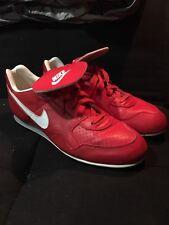 1991 Nike Slasher Size 13.5 Baseball Cleats Vintage Original Red White