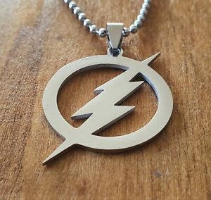 The Flash Stainless Steel Necklace Pendant