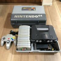 Nintendo 64 console bundle + Accessories + 13 games japanese ver. N64 from Japan