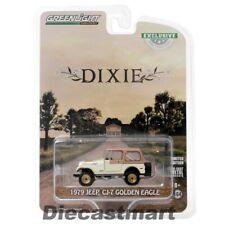 Dukes of Hazzard Dixie 1979 Jeep Cj-7 Golden Eagle 1 64 Greenlight 30175