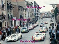 Ford GT40 & Porsche 908 & Abarth 1000 Spanish SCC Alcaniz 1969 Photograph