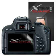 6-Pack Clear XtremeGuard HI-DEF Screen Protector For Canon EOS Rebel T7i