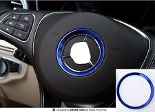 AUTO DECORATIVE ACCESSORIES Metal Car Steering Wheel Center Logo Decoration Ring