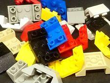 GRATIS P /& P 20 x LEGO Mattone 3660 BRUNO ROSSASTRO pendenza Mattone 45 2 x 2 invertito