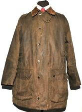 BARBOUR A825 CLASSIC NORTHUMBRIA JACKET GREEN WAXED JACKET SIZE C46 /117 CM