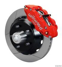 "Chevrolet C10 Wilwood Front Big Brake Kit,C1500,Suburban,Blazer,13"" Rotors,Red"
