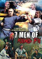 7 Men Of Kung Fu - Hong Kong Kung Fu Martial Arts Action movie DVD - NEW DVD