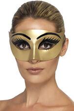 D'Oro Cleopatra Maschera per gli occhi NUOVO - CARNEVALE MASCHERA VOLTI
