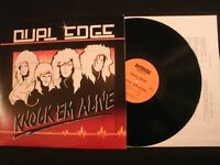 DUAL EDGE - Knock em' Alive - 1987 Vinyl 12'' Lp./ Christian Hard Rock Metal