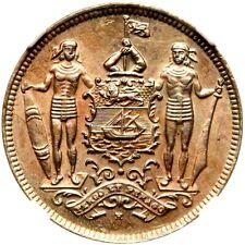 1903 H British North Borneo 2 1/2 Cents, NGC MS 64, KM - 4