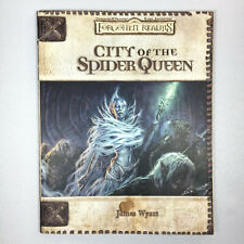 Forgotten Realms City of the Spider Queen Dungeons & Dragons Game Adventure Book