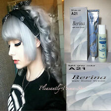 Berina Color Permanente Crema Tinte de pelo gris claro A21 envío rápido El vendedor #UK #