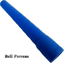 "Tacki-mac Hockey Stick Grips-Command Long Textured Wrap Grip-9"" Blue Wrapped"