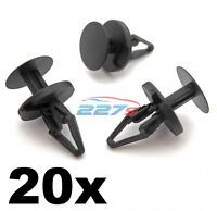 20x Ford Plastic Trim Clips, Bumper, Splitter and Wheel Arch Lining Clips