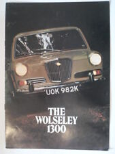 WOLSELEY 1300 MK.II SALOON orig 1971 1972 UK Mkt Sales Brochure - #2852/A