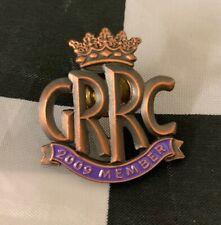 2009 GOODWOOD ROAD RACING CLUB GRRC MEMBERS ENAMEL PIN BADGE FOS REVIVAL 250 GTO