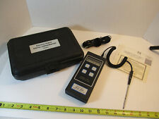 Electro Therm Tm99a Digital Thermometer Cooper Instruments With Case Probe