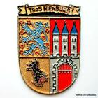 Tros FGS Nienburg A1416-German Navy Bundesmarine Ship Tampion Plaque Badge Crest