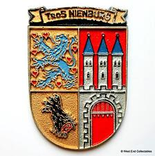 Tros FGS nienburg a1416-german BUNDESMARINE NAVY NAVE tampion PLACCA BADGE CREST