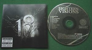 Eighteen Visions Self Titled inc Our Darkest Days & Broken Hearted + CD