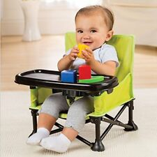 Summer Baby Infant Pop Sit Portable Booster chair dining on go removable tray
