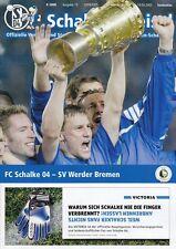 Schalker Kreisel + 19.04.2005 + FC Schalke 04 vs. Werder Bremen + DFB-Pokal +