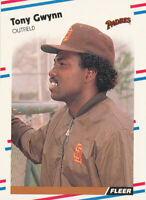 Tony Gwynn 1988 Fleer #585 San Diego Padres baseball card