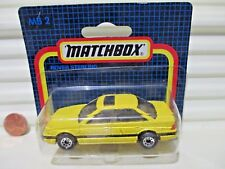 Matchbox Rare German Issue 1988 MB31G/2F Yellow ROVER STERLING Nu in C9 BubblePk