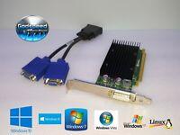 Dell OptiPlex 740 745 755 760 780 790 960 980 990  Dual Monitor VGA Video Card