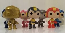 Funko Pop! - MEGA MAN - Set of 7 including Exclusives - No Box, OOB, Capcom