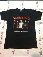 Marroon 5 Adam Levine Limited 2015 World Tour T-Shirt Size medium