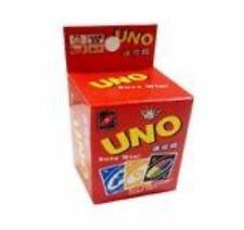Uno Card Mini Version Small Cards Travel Card Board Game