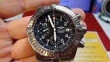 Breitling Chrono Avenger Titanium E13360 300M Black Automatic Mens Watch
