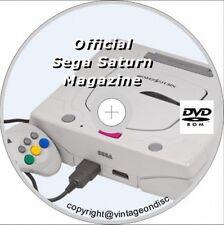SEGA SATURN Magazine 37 Issues Full Run On Dvd Rom